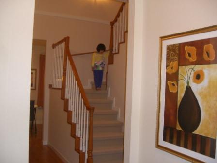 モデルハウス 階段