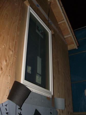 窓設置 2F主寝室