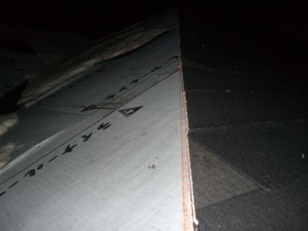 屋根工事 スレート葺き 途中まで