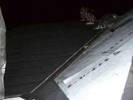 屋根工事 スレート葺き あと少し!