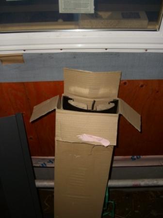 屋根工事 棟換気準備