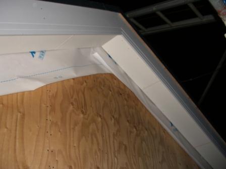 屋根工事 軒下が綺麗に