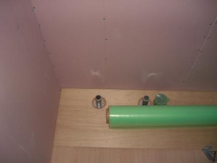 内装工事 キッチン水道設備