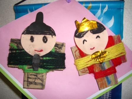 2011のひな人形 お姉ちゃん作
