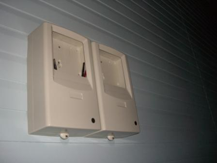 外装工事 電気メーターボックス