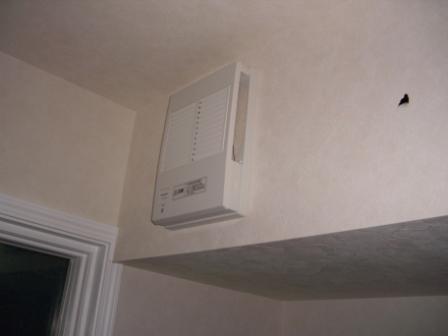 内装工事 キッチンの換気扇