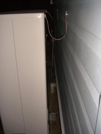 外装工事 全館空調の室外機 転倒防止