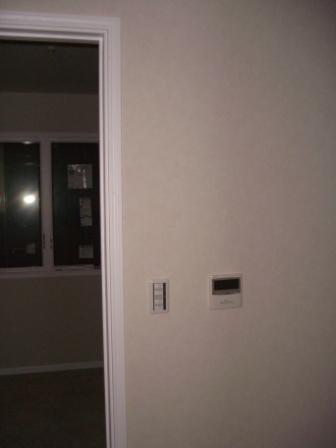 内装工事 全館空調のコントローラー2F
