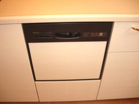 竣工目前 キッチン確認 食洗機