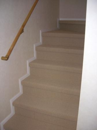 内装工事 階段カーペット
