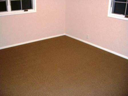内装工事 主寝室カーペット