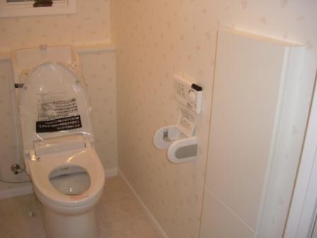 1Fトイレ完成