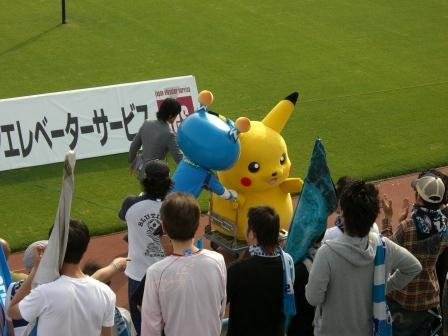2011 鳥取戦 ピカチュウ移動