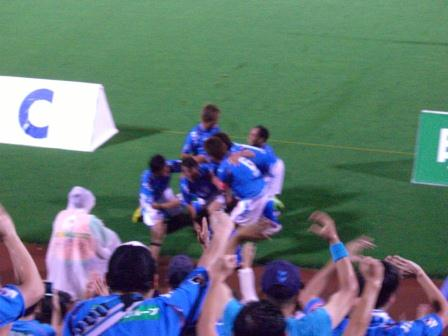 2011水戸戦 野崎の決勝ゴール!