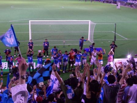 2011水戸戦 久々のホーム勝利