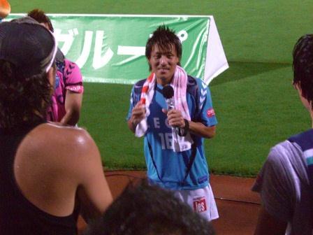 2011水戸戦 やっと活躍の宮崎