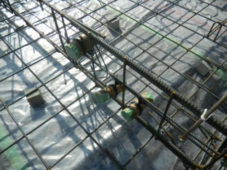 基礎工事 給排水口