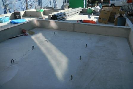 基礎工事 給排水設備①