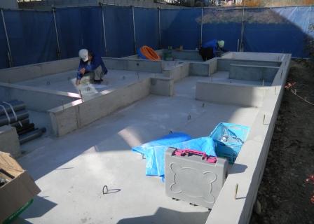 基礎工事 給排水設備②