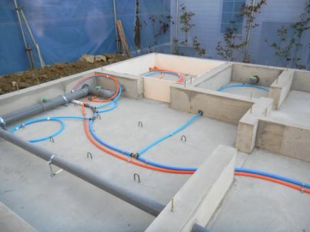 基礎工事 給排水設備⑤