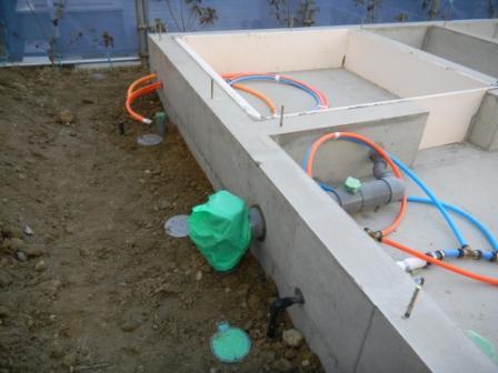 基礎工事 給排水設備⑥