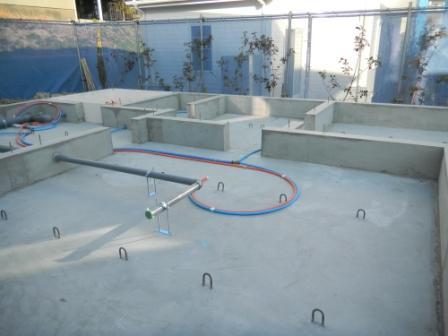 基礎工事 給排水設備⑦