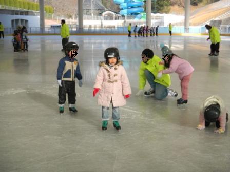 こどもの国 スケート教室