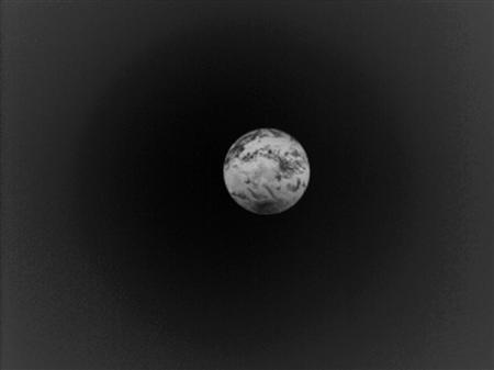 「あかつき」による地球画像