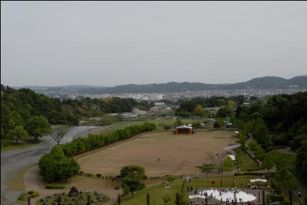 戸川公園 結構いい景色