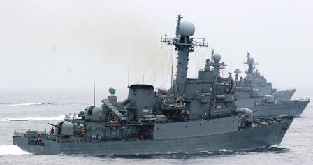 韓国の哨戒艇