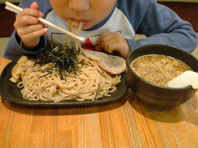 つけ麺直食い