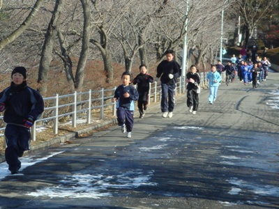 五戸新春マラソン2010_2km