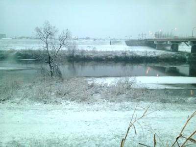 雪<大和川>①11.02.11_172747