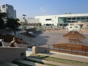 台北(南港)のスケートパーク