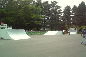 駒沢公園新ファンボックス