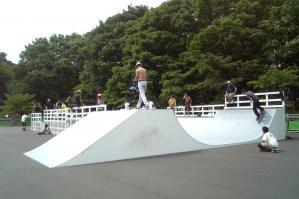 駒沢公園新スケートパーク