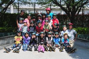 ジュニアインラインスケート教室May2010