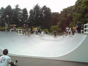 東京都内激アツ天サロスポット駒沢公園のスケートパーク