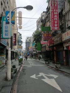 台北の街(春節)
