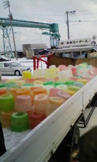 アイスキャンドル トラック
