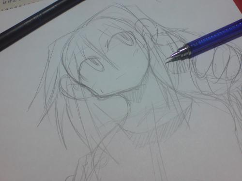 合間合間で描いてしまうらくがき(´∀` )