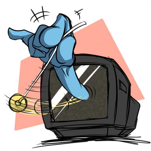 今のテレビは時々これになる希ガス
