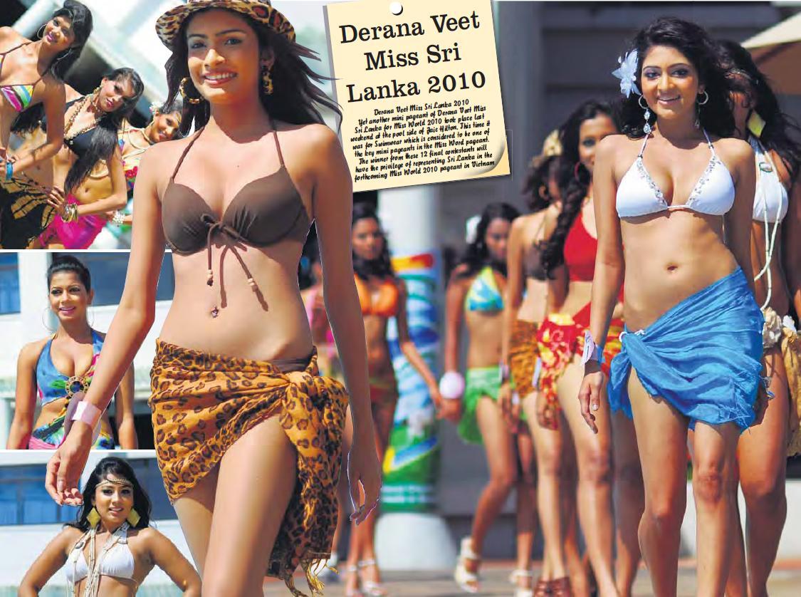Miss Sri Lanka 2010 Swimwear