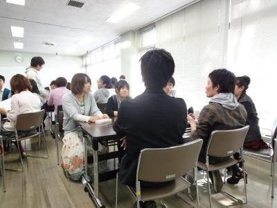 班の話し合い風景
