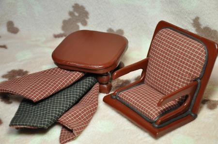座椅子(赤)