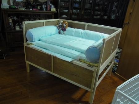 れんちゃんベッド(D)