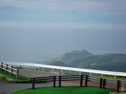 竜飛岬と北海道