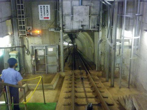 海底トンネル坑道体験