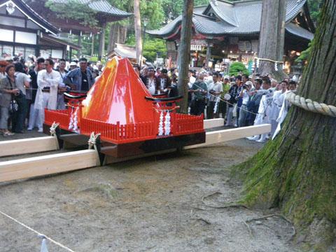 富士山の神輿