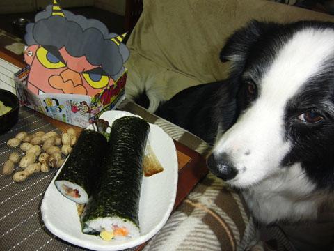 恵方巻き食べたいな